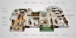 House Floor Plans 4 Bedroom 2 Bath House Plans 4 Bedroom House Plans4 Bedroom Townhouse Floor Plans