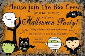 Free Halloween Birthday Invitation Templates Halloween Costume Party Invitations Templates