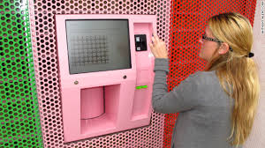 Cupcake Vending Machine Chicago Awesome Cupcake ATM Vends Sweet Treats Around The Clock Eatocracy CNN