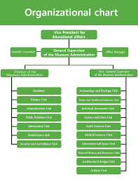 Museums Administration Organizational Chart
