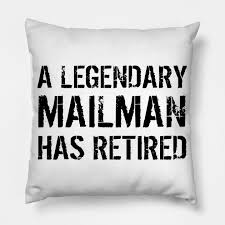 Retired Mailman Postman Mail Carrier Retirement