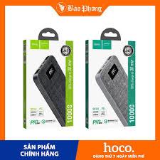 Pin sạc dự phòng Hoco J47 cổng PD + QC3.0 dung lượng 10.000mAh Dành cho  iPhone IP 7 8 Plus X Xs 11 12 Pro Max Samsung - Pin sạc dự phòng