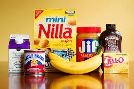 banana pudding ice cream with peanut er and chocolate fudge swirls heavy cream and sweetened condensed milk
