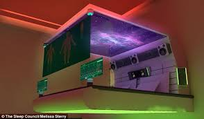 Exceptional The Bedroom Of The Future Could Also Be Fitted With Lights Above The Bed  That Turn