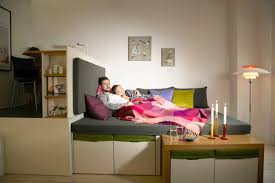Great Furniture For Efficiency Apartments Creative Studio Apartment Idea  With Efficiency Bedroom And Space Saving Furniture