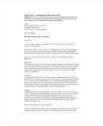 complaint letter word pdf documents harassment complaint letter