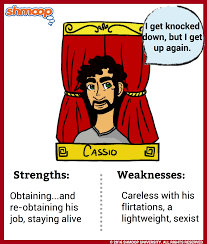michael cassio in othello character analysis