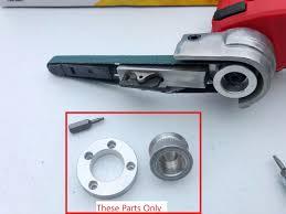 1 x belt sander adapter. Soltekonline Belt Sander Conversion Parts For Milwaukee M12 Cut Off Saw 2522 20 3 8 X 13