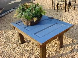 furniture made out of doors. Table Made From Old Door Coffee For Out Of Doors With Pipe . Furniture