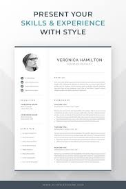 How To Make A Modern Resume In Word Resume Template Professional Microsoft Word Creative