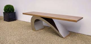 contemporary outdoor bench  amazing design on contemporary