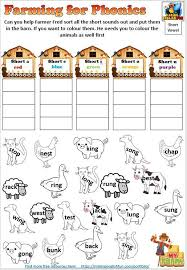 Kids practice sounding out words and get to know the sound x makes when it comes at the end of a word in this phonics worksheet. Farming For Phonics Onset And Rime Worksheets Editable Making English Fun