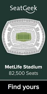 New York Jets Seating Chart The Best Deals On Jets Tickets Are On Seatgeek Nfl