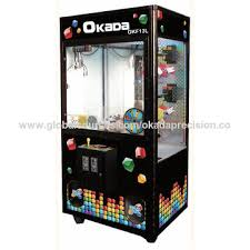 Game Vending Machine Custom Taiwan Crane Machine From Dali District Manufacturer Okada