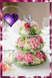 Happy Birthday Cake Gif Happybirthday Cake Flowers Discover
