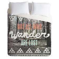 com deny designs wesley bird wander duvet cover queen home kitchen