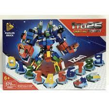 Đồ chơi Lego lắp ráp Digital Robot 12 in1 Panlosbrick 633021, Giá tháng  11/2020
