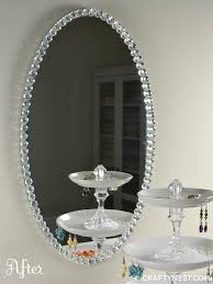glass bead mirror