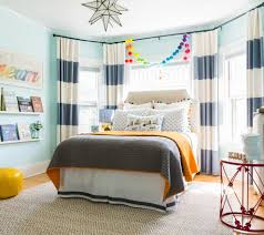 Next Bedroom Curtains Horizontal Striped Curtains In Kids Traditional With Horizontal