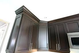 installing crown molding on kitchen cabinets kitchen cabinet moulding how to cut and install crown molding