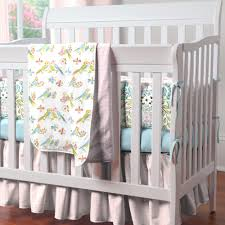 bird crib sheets love birds portable crib bedding