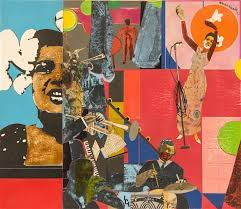 romare bearden billie holiday 1973 br image
