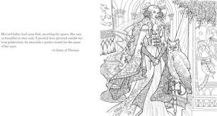 The Official A Game Of Thrones Coloring Book By George R R Martin