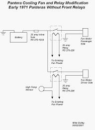 fan relay wiring diagram Electric Fan Relay Wiring Diagram cooling fan relay modification dual electric fan relay wiring diagram