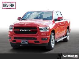 New 2019 Ram 1500 For Sale Crew Cab Pickup Flame Red Clearcoat ...