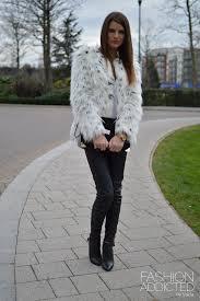 asos snow leopard fur coat 2