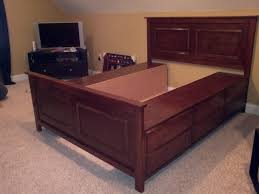 diy king platform bed with storage. Ana White Queen Size Fillman Storage Bed Diy Projects Diy King Platform Bed With Storage