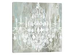 chandelier wall art decal canada canvas uk by kids room extraordinary 1 piece print scenic metal