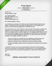 Retail Associate Cover Letter Sales Associate Cover Letter X Stunning Retail Associate Resume