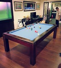 7ft dining table: pranzo ft with gold cloth pranzo ft pool table