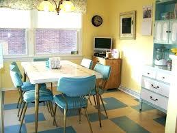 retro kitchen table sets dinette parts