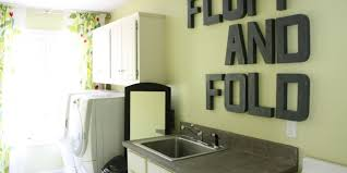 Laundry room makeovers charming small Decorating Remodelaholic Remodelaholic High Style Low Cost Laundry Room Makeover