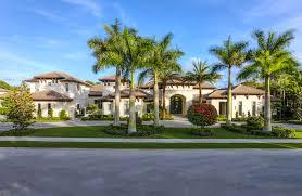 12 95 million newly built mediterranean mansion in palm beach gardens fl homes of the rich