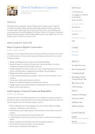I've searched on google and still unsure about my specific. Carpenter Resume Writing Guide 12 Resume Examples 2020