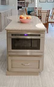 Unique Ideas  Microwave Drawer Microwave Drawer In Island H13