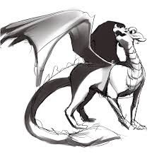 ドラゴンのイラストの描き方かわいいもの簡単なものは