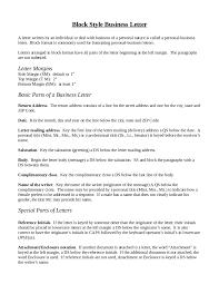 block letter format 2 1