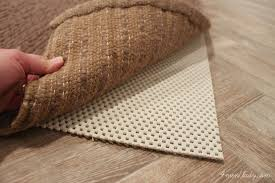 awesome choosing a rug pad of pottery barn style and concept