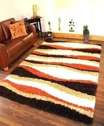 brown area rug brown living room rugs burnt orange and brown living room burnt orange beige