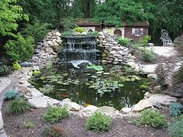 Small Picture Pittsburgh Koi Pond Waterfall Outdoor Fountains