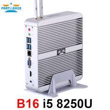 <b>Partaker</b> B16 <b>Intel Core</b> i5 8250U DDR4 Fanless Mini PC WIN10 ...