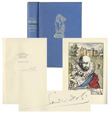 lot detail salvador dali signed signed limited edition of  salvador dali signed signed limited edition of essays of michel de montaigne