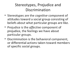 prejudice  2 stereotypes prejudice and discrimination