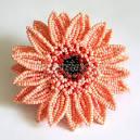 Брошь-цветок мастер класс