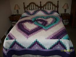 Bargello Quilt Patterns.Traditional Patchwork Quilt Pattern ... & quilting board finished bargello quilt pattern called linking hearts Adamdwight.com