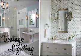 unique bath lighting. vintage bathroom lighting to update your space unique bath b